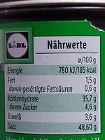 Würzmischung für Gemüse - Valori nutrizionali - de