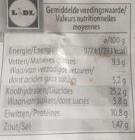 Next level burger - Voedingswaarden - nl