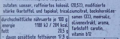 Bedda scheiben bockshornklee - Ingredienti - de