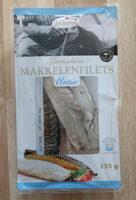 Gerächerte Makrelenfilets natur - Produkt - de