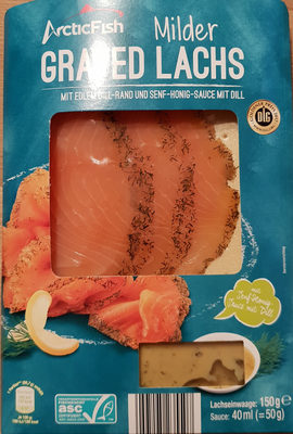 Milder Graved Lachs - Product - de