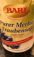 Traubensaft - Produit