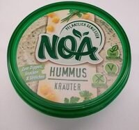 Noa Brotaufstrich Hummus Kräuter - Produkt - de