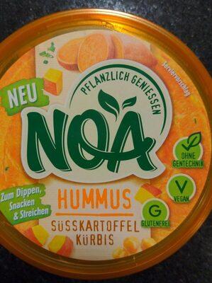Hummus Süsskartoffel Kürbis - Product - de