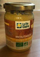 Moutarde au vinaigre de cidre et citron - Produit - fr