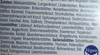 Kräutertee Basentee aus 49 Kräutern bio - Ingrediënten - de