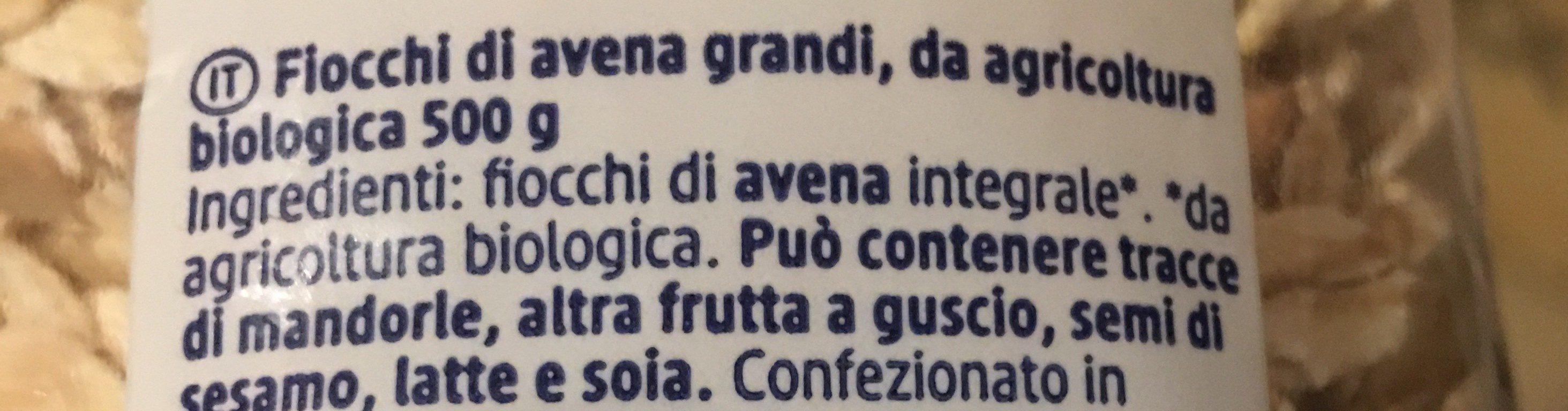 Flovon d'avoine - Ingredients - fr