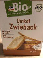 Dinkel Zwieback - Product