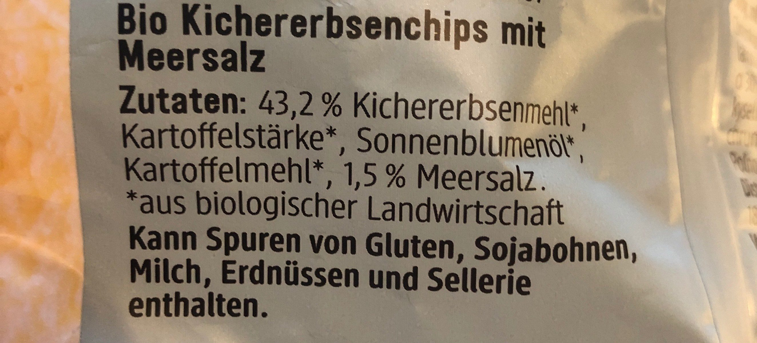 Kichererbsen - Ingrediënten