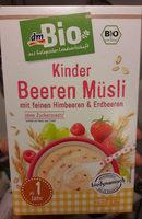 Kinder Beeren Müsli - Produkt