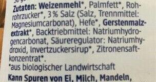Knabbertiere - Ingrediënten - de