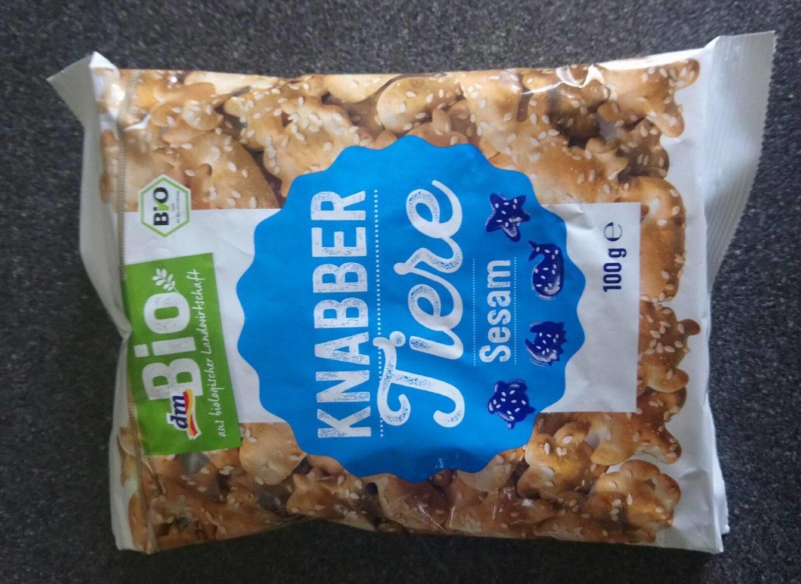 Crackers au sésame - Produit - fr