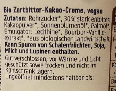 - Ingredients - de