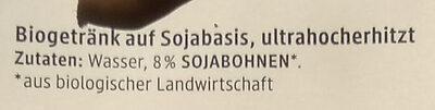 Soja drink natur - Ingredients