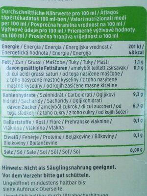 Reis Drink Natur - Nutrition facts