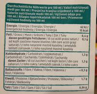 Kokos drink natur - Nutrition facts