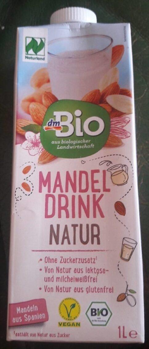 Mandel Drink Natur - Produit - de