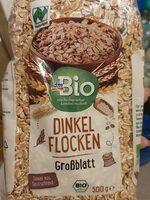 Dinkel Flocken Großblatt - Produit - de