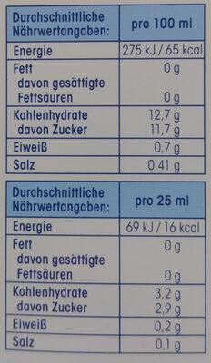 Nahrungsergänzungsmittel Immun Wochenkur - Nutrition facts - de