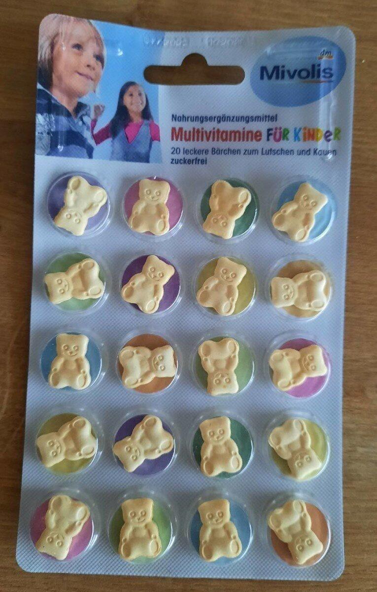 Multivitamine für Kinder - Produkt - de
