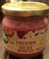 Streichcreme Rote Bete Merrettich - Prodotto - de