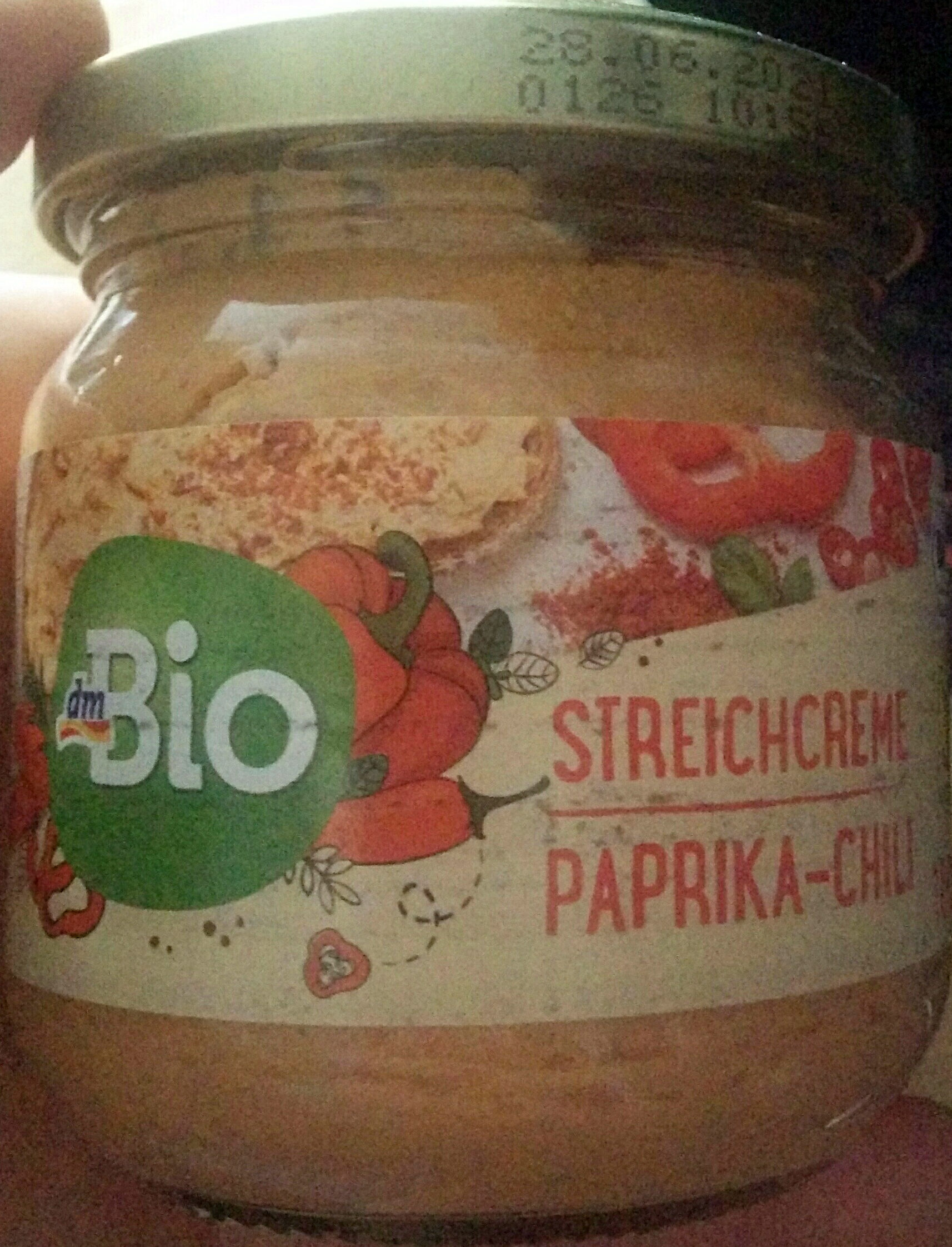 Streichcreme Paprika-Chili - Produit