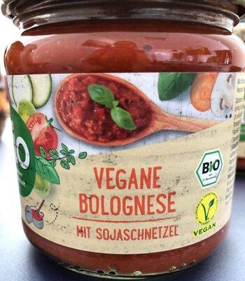Vegane Bolognese mit Sojaschnetzel - Product - de