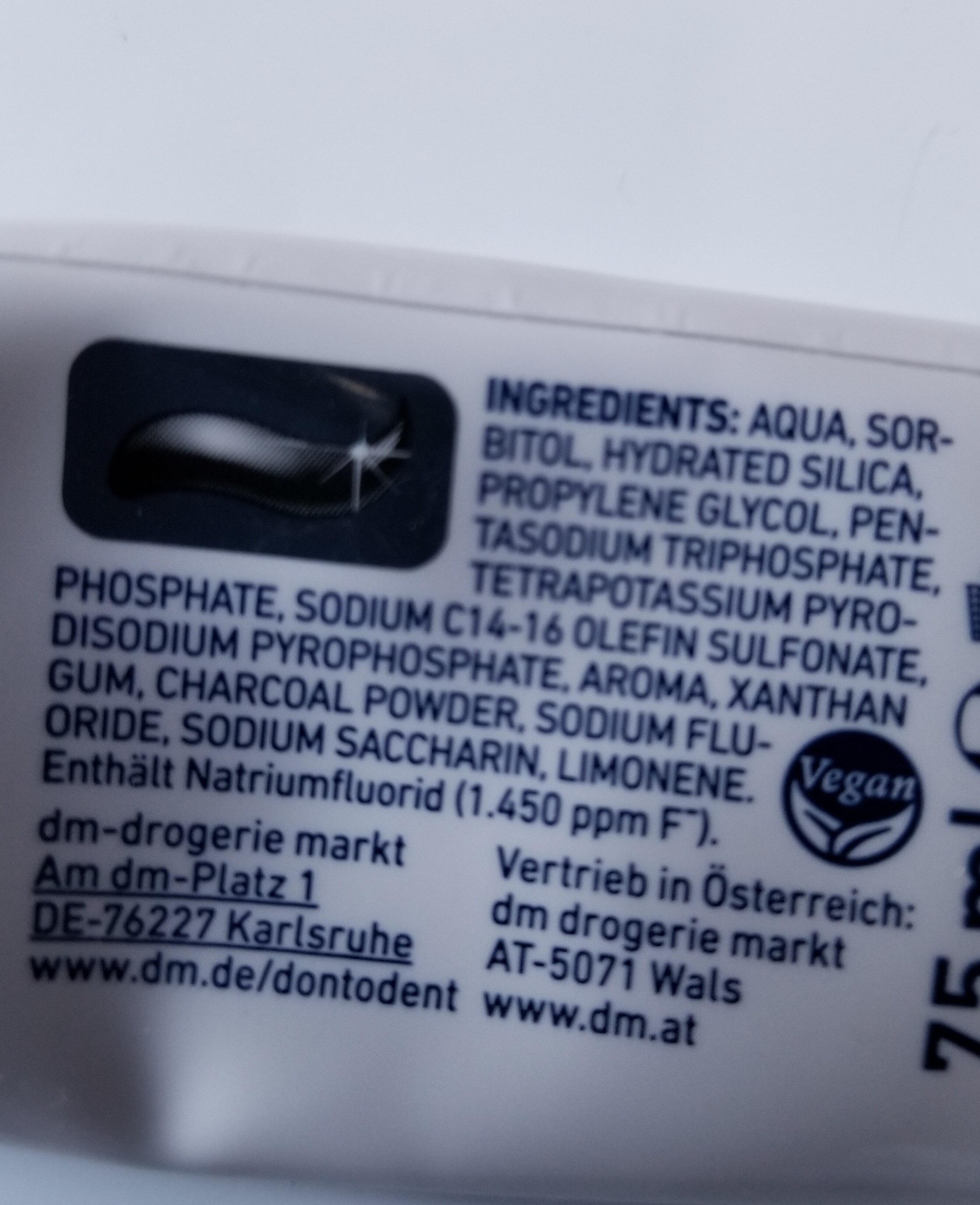 Donto dent - Ingrédients - de