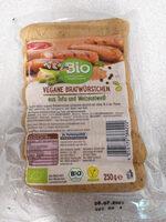 Vegane Bratwürstchen aus Tofu und Weizeneiweiß - Produit - de