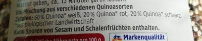 Quinoa tricolore - Ingredienti - de