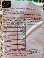 Quinoa tricolore - Valori nutrizionali - de