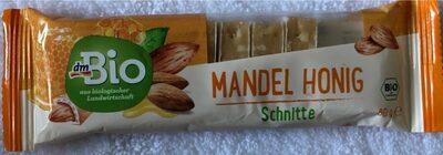DmBio Mandel Honig Schnitte - Produkt - de