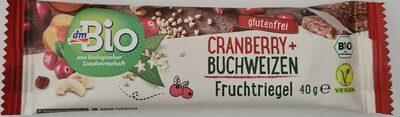Cranberry + Buchweizen Fruchtriegel - Produit - de
