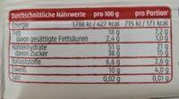 Cranberry + Buchweizen Fruchtriegel - Informations nutritionnelles - de
