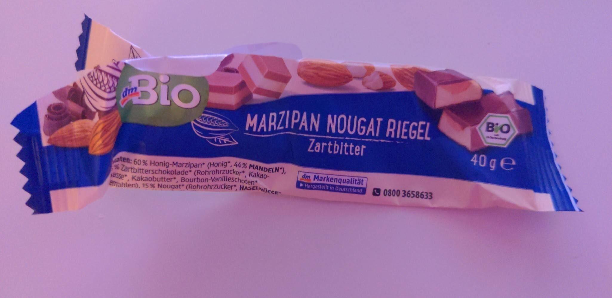 Marzipan Nougat Riegel Zartbitter - Prodotto - en