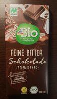 Feine Bitter Schokokade - Produkt - de