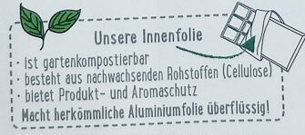 Feine Bitter Schokolade - Recycling instructions and/or packaging information - de
