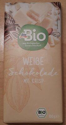 Weisse Schokolade mit Crisp - Produit - de