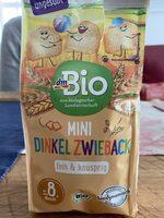 Mini Dinkel Zwieback - Produit - de