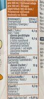 Apfel mango Saft - Informations nutritionnelles - fr
