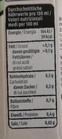 Aloe & Frucht - Nutrition facts - de