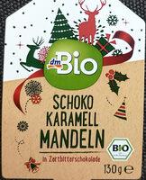 Schoko Karamel Mandeln - Produit - de