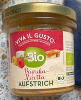 Paprika-Ricotta Aufstrich - Produit - de