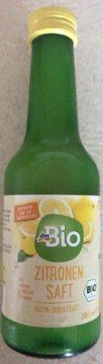 Zitronen saft - Produkt - en