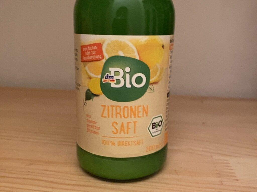 Zitronensaft - Produkt - en