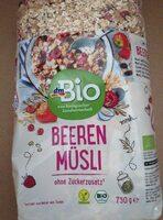 DM Bio Beeren Müsli - Prodotto - de