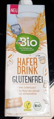 Hafer Drink Glutenfrei - Produit - de