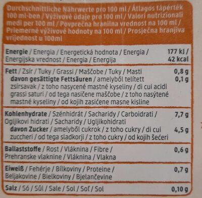 Hafer Drink Glutenfrei - Informations nutritionnelles - de