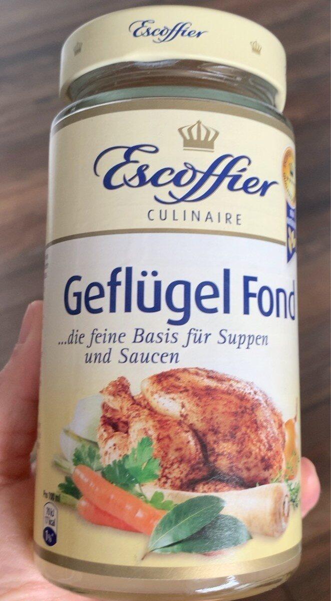 Geflügel fond - Produit - de