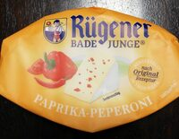 Paprika Pepperoni Weichkäse - Prodotto - de